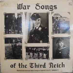 Unknown Artist - War Songs Of The Third Reich Vol. III download free